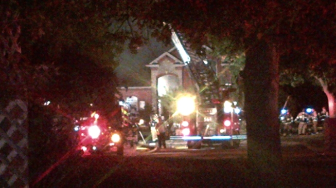 Fire Destroys Grapevine Home, Classic Cars
