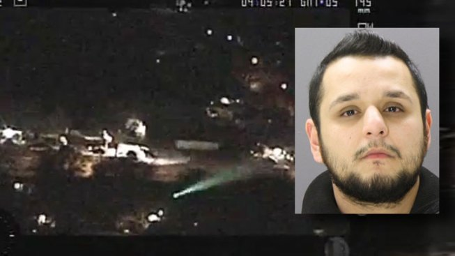 Man Denied Bond in Laser Strike Case