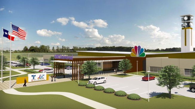 NBC 5 Breaks Ground on New Facility