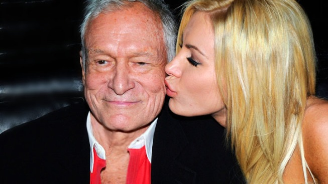 Hugh Hefner Gets Candid About Split With Crystal Harris