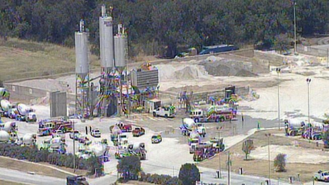 Overheated Worker Collapses on Lewisville Silo