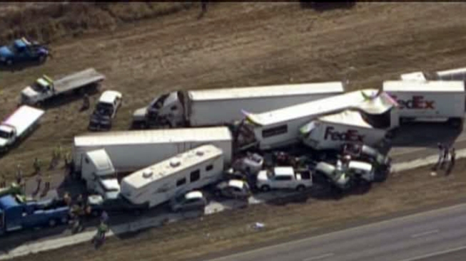 No Charges in Massive Thanksgiving Pileup
