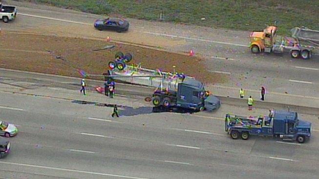I-45 Reopened After Major Crash