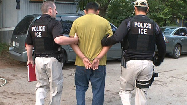 ICE Arrests 50 Convicted of Crimes in Texas