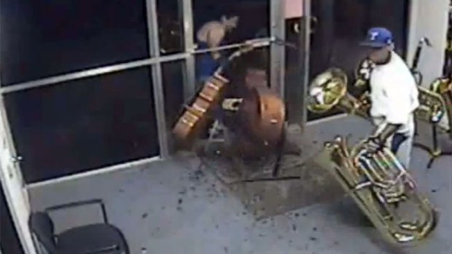 Thieves Snatch Orchestral Instruments