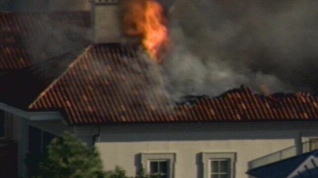 Fire Rips Through Irving Home