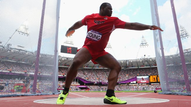 Young Bounced from Discus Qualifier