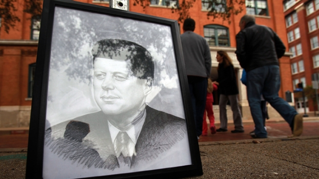 Dallas Roads, Buildings Close for JFK Commemoration