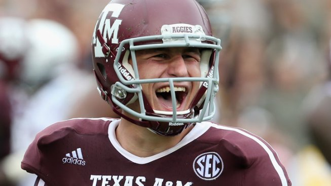 SEC Names A&M's Manziel Offensive Player of Week
