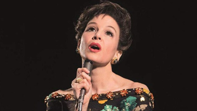 Renee Zellweger as Judy Garland: The Triumph and the Tragedy