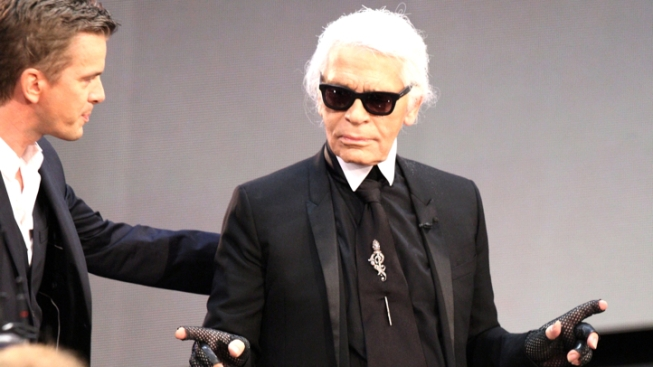 "Karl Lagerfeld: Michelle Obama's Bangs Were ""Not a Good Idea,"" Make Her Look ""Like a News Anchor"""