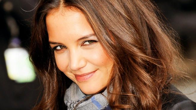 Trashed! Katie Holmes and Suri's Car Sideswiped by Garbage Truck