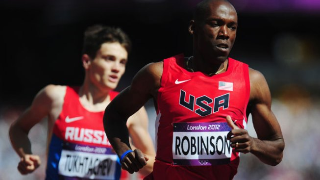 Robinson Out of Men's 800m in London