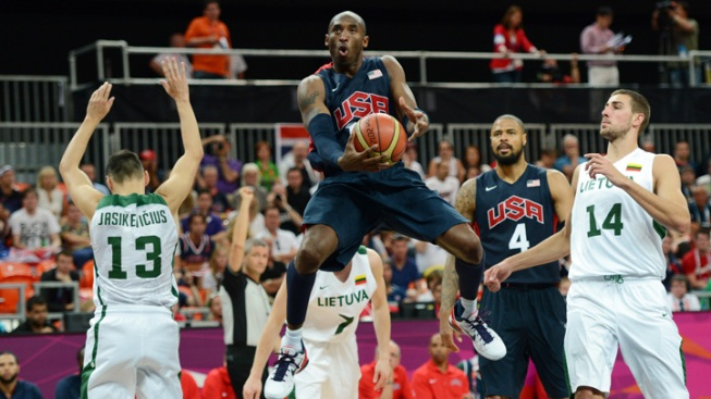 U.S. Men's Basketball Team Beats Lithuania