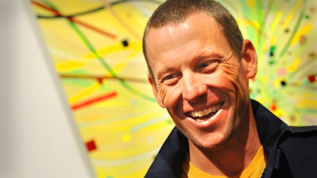 Lance Armstrong Finishes 3rd in Triathlon