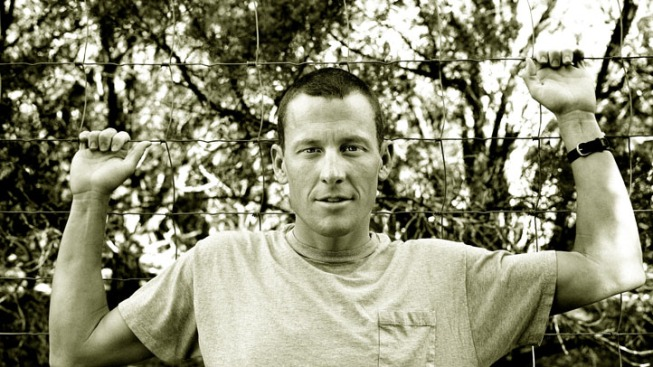Lance Armstrong to Swim Race for Charity