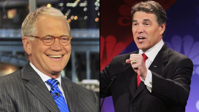 Perry Heads to Letterman After 'Oops'