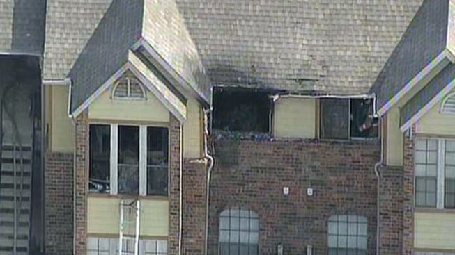 Apartment Fire in Lewisville Goes to 3 Alarms
