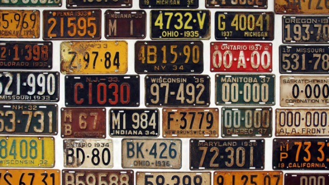 New TX License Plates Sport Old Look