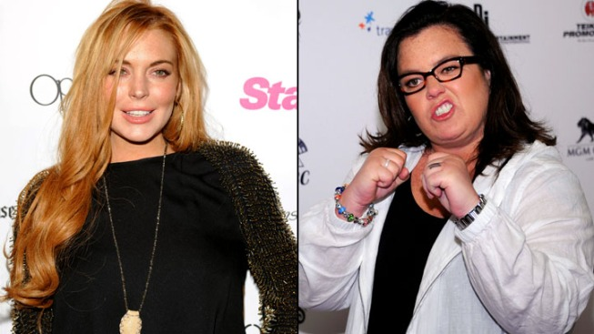 "Rosie O'Donnell Clarifies Lohan Criticism on ""Today"""