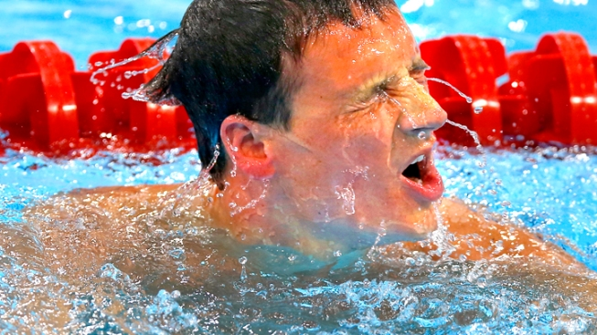 Lochte Fails to Medal in the 200 Free