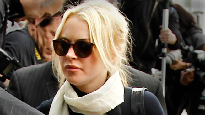 Lindsay Lohan Is Released From Jail