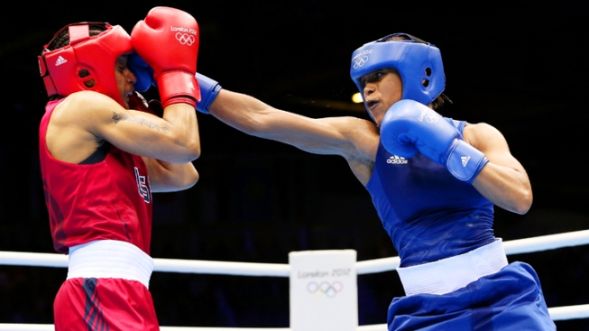 U.S. Loses to Great Britain on Historic First Day of Women's Boxing