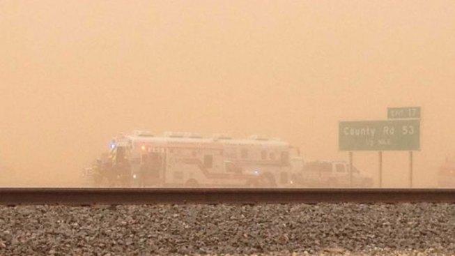 Dust Storm Crash Kills 1, Closes I-27 North of Lubbock