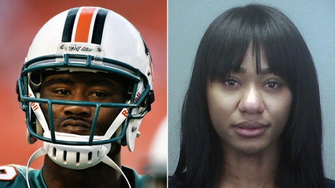 Wife Charged With Stabbing Dolphins' Brandon Marshall