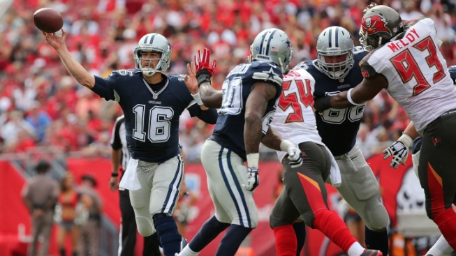 Cowboys Fall Late to Buccaneers, 10-6
