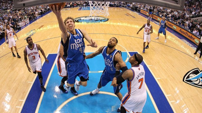 Mavs Rout Knicks, Win by 18