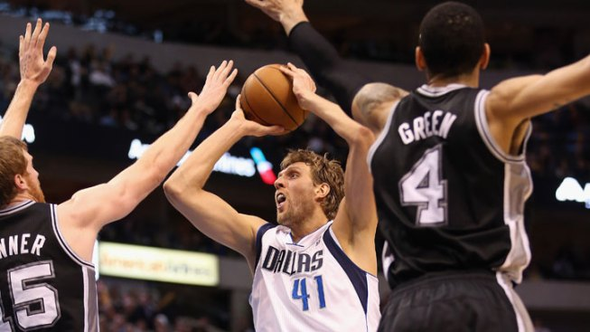 Tony Parker Leads Spurs Past Mavs