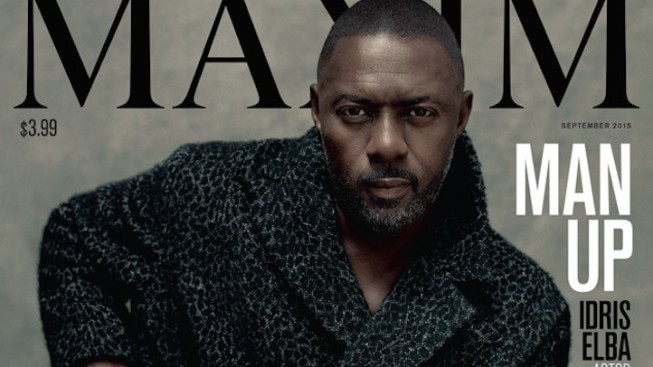 Idris Elba Is the First Man Ever to Cover Maxim