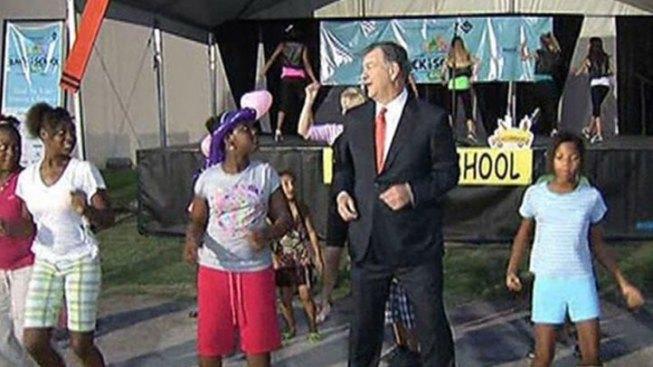 Dallas Mayor Hosts Annual Back-to-School Fair