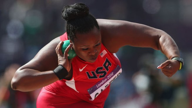 Michelle Carter Advances to Shot Put Final
