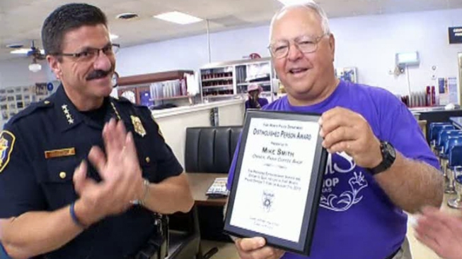 Coffee Shop Owner Honored For Heroic Efforts, Saving Officer's Life
