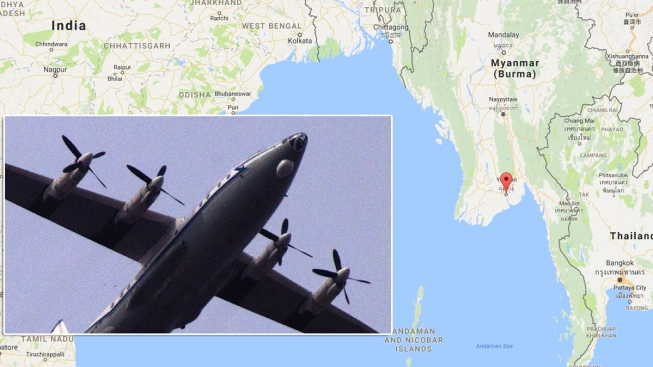 Myanmar Adds Ships, Aircraft to Search for Missing Plane Carrying 120 People