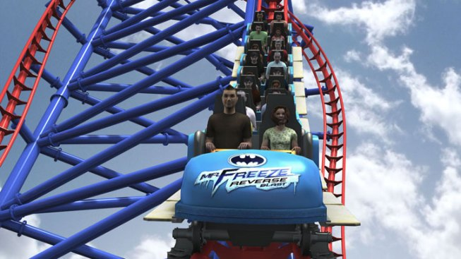 Six Flags to Reverse Mr. Freeze