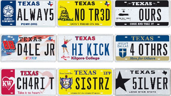 Layaway a Finance Option for TX Vanity Plates