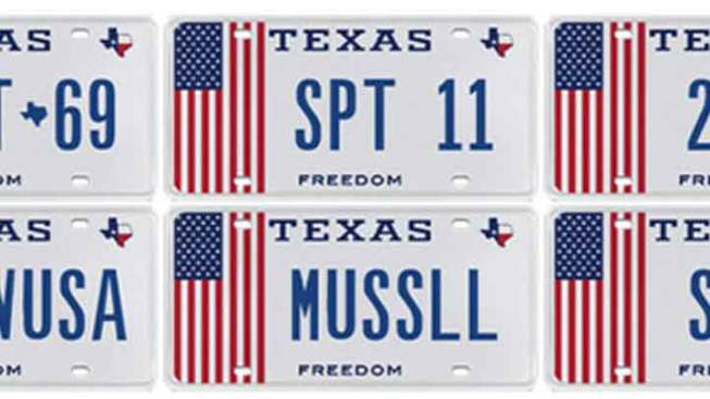 Proud to be an American License Plates