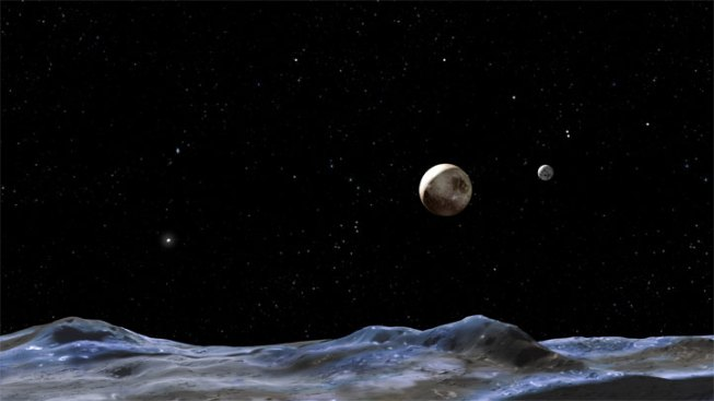 New, Tiny Moon Found Orbiting Pluto