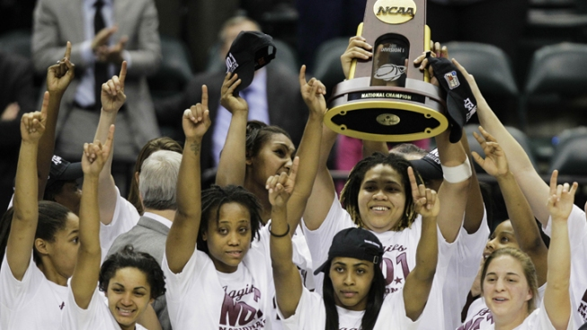 Texas A&M Beats Notre Dame 76-70 for NCAA Title