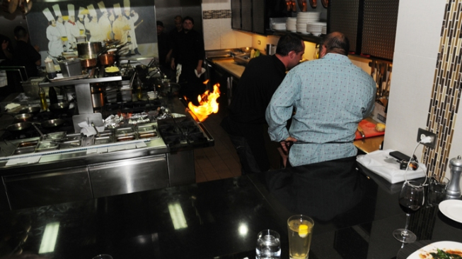 """Hell's Kitchen"" Watch Party Gets Fiery"