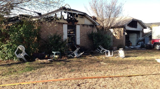 North Richland Hills House Fire Injures One