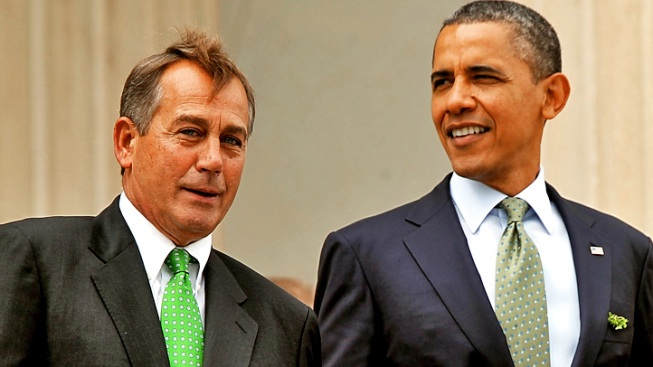 "Obama Rejects Boehner's ""Plan B"" amid Fiscal Cliff Haggling"