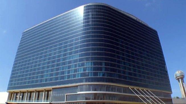 Dallas' Omni Hotel Catches Fire