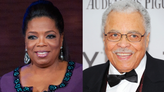 Oprah, James Earl Jones to Receive Honorary Oscars