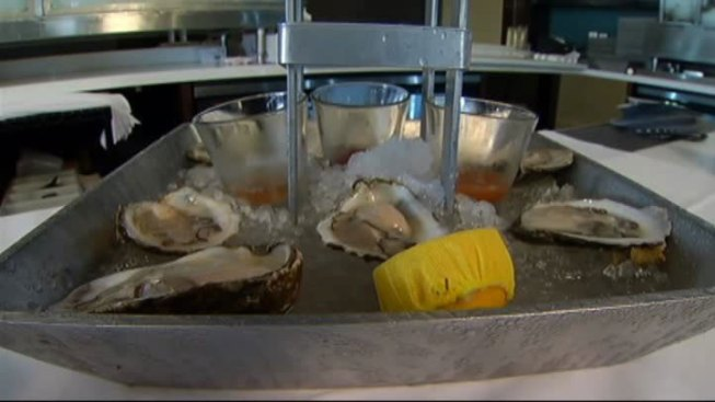 Twenty at the Tower Recipe: Oysters on the Half Shell with Serrano Sauce