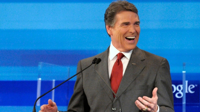 Local Tea Party Leader Says Perry Slipped in Debate