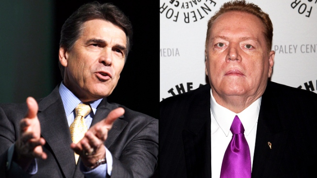 Larry Flynt Offers $1M for Dirt on Rick Perry